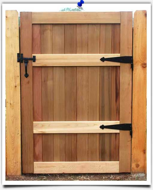 All Bronze Thumb Latch On A Wooden Gate See Our Complete