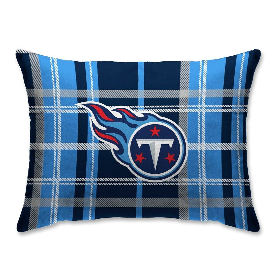 Pegasus Tennessee Titans Plaid Standard Pillow In 2020 With