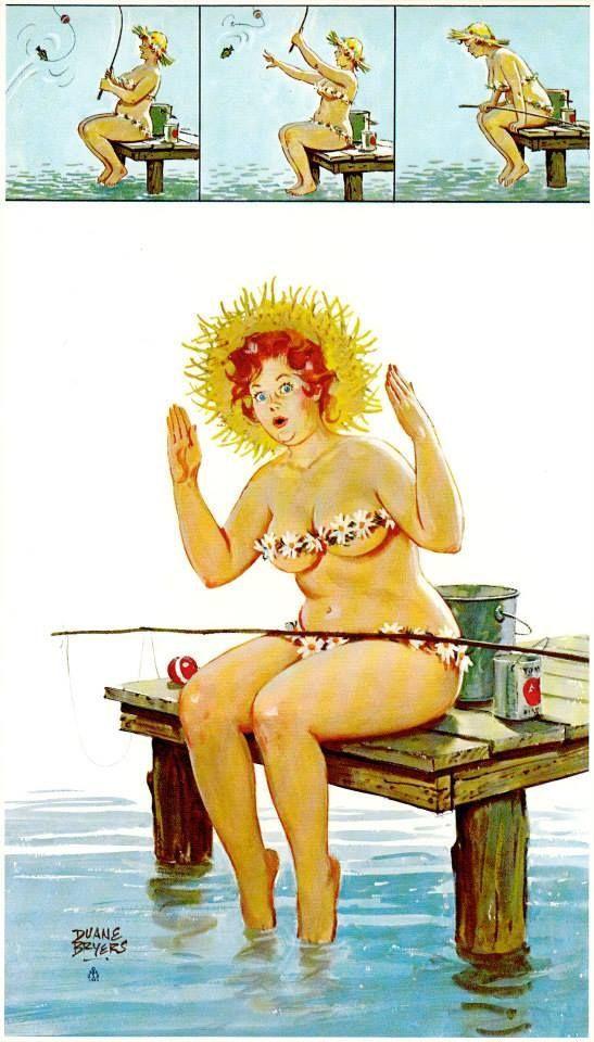 Wall Art Print-Art Reproduction Vintage Sexy Pin-up Girl Vintage ...