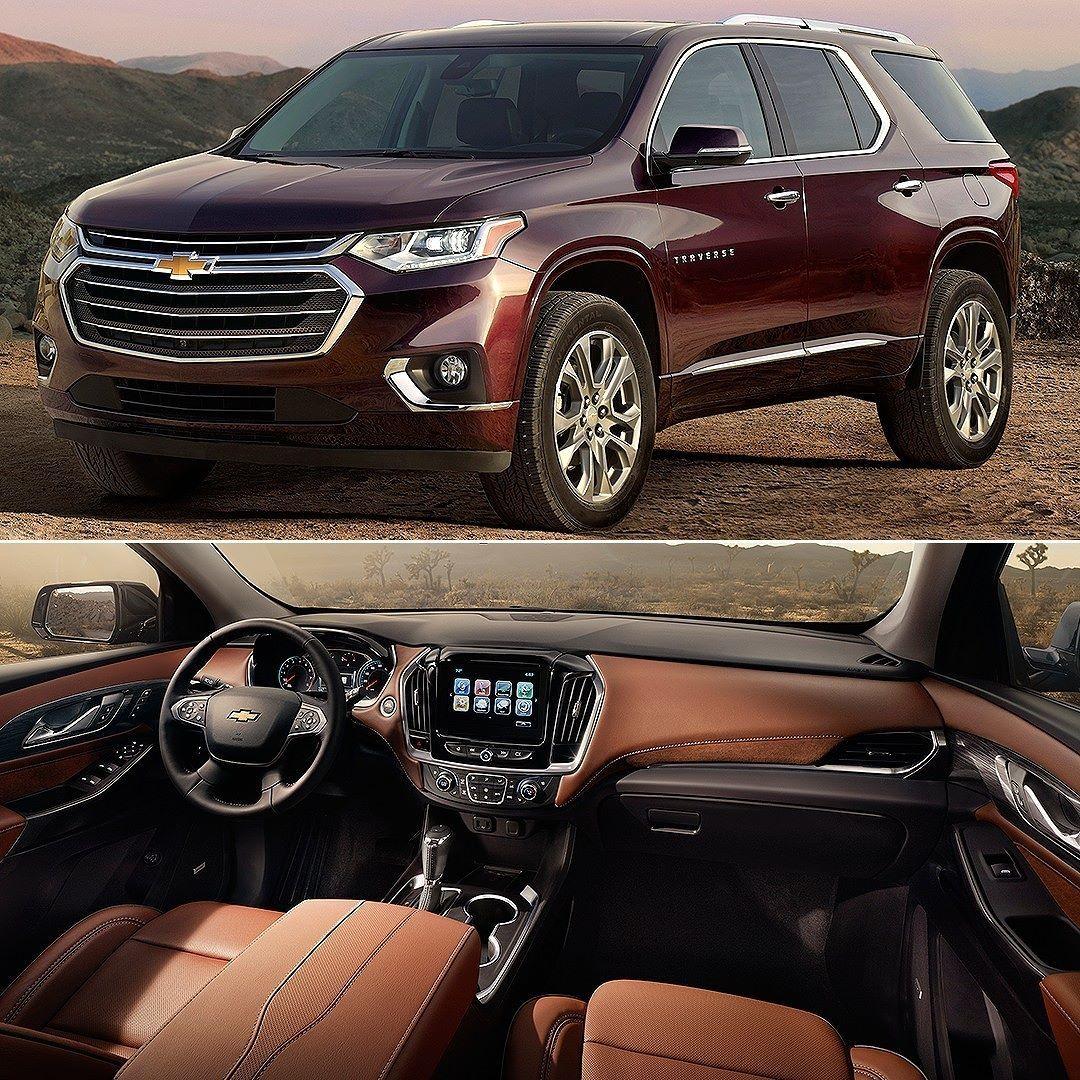 Chevrolet Traverse 2018 General Motors Revelou Os Precos Do Suv