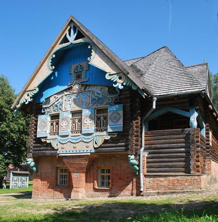 house-terem- old Russian mansion built in 1901 city of Smolensk