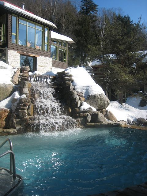 Le Scandinave Spa Mont Tremblant Spa Trip Dream Vacations Mont Tremblant