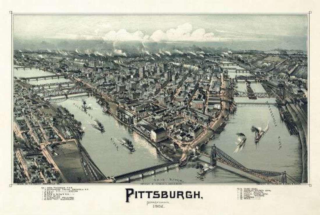 How 65 Pittsburgh Neighborhoods Got Their Names