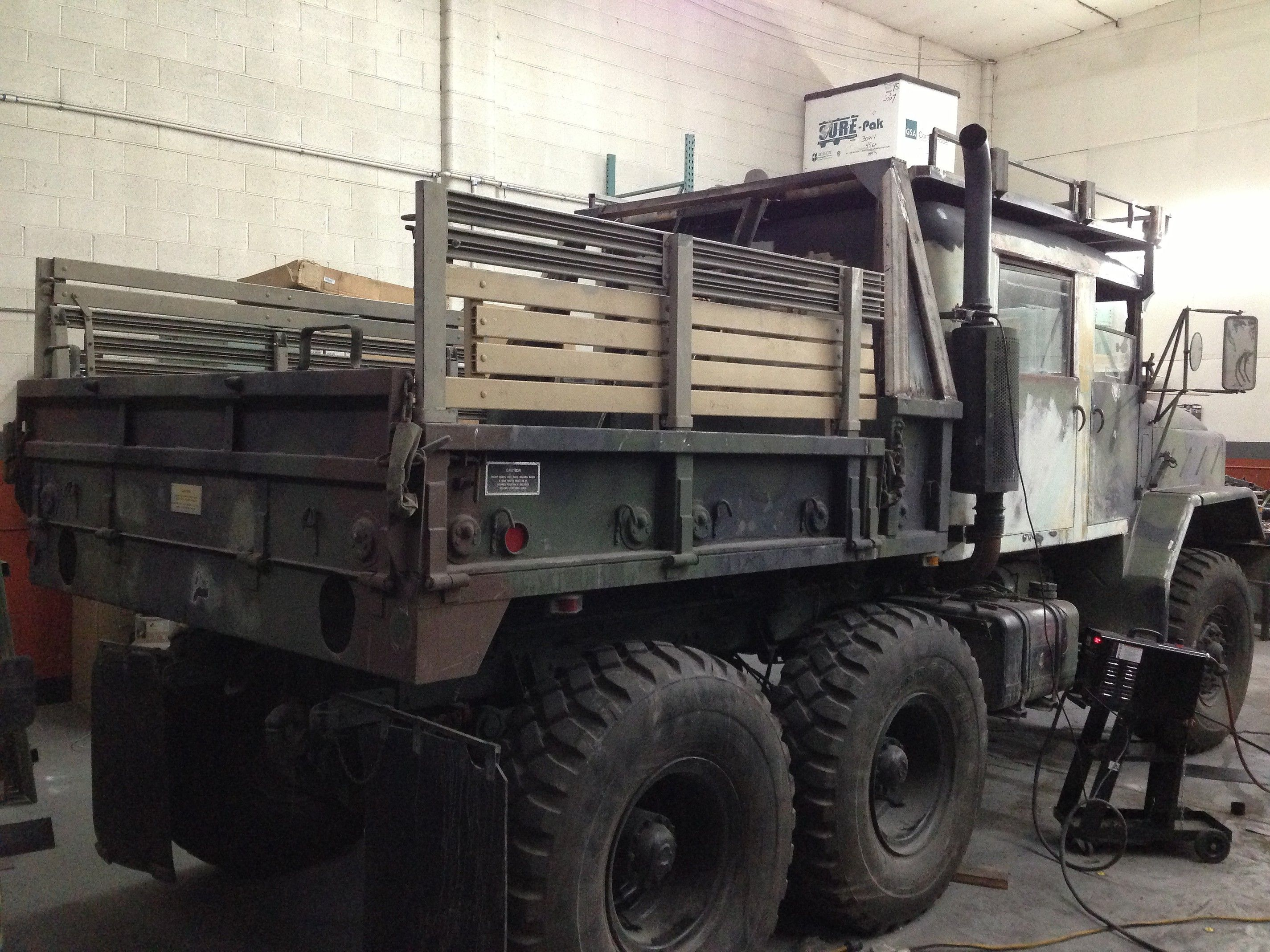 Custom Built 6x6 4x4 Bobbed Deuce And A Half Ton 5ton Crewcab Trucks