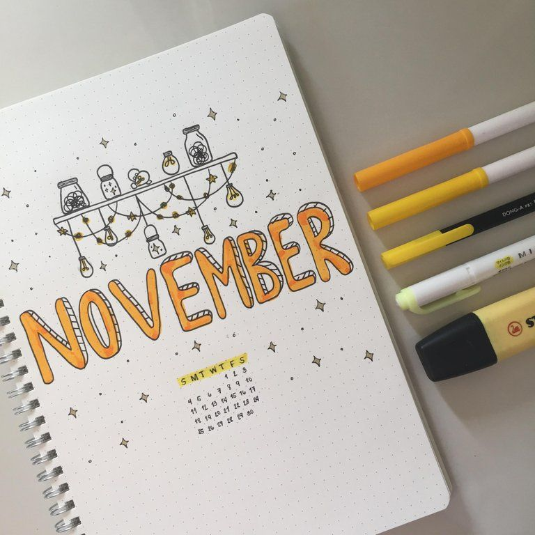 First time poster here. I started my November spread early so I could actually finish a whole month instead of skipping some spreads. : bulletjournal #novemberbulletjournalcover