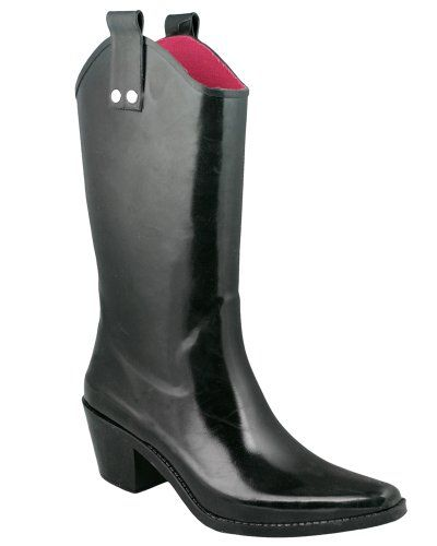 Rubber cowboy boots , cute with jeans and comes in all colors and styles...Frenchs