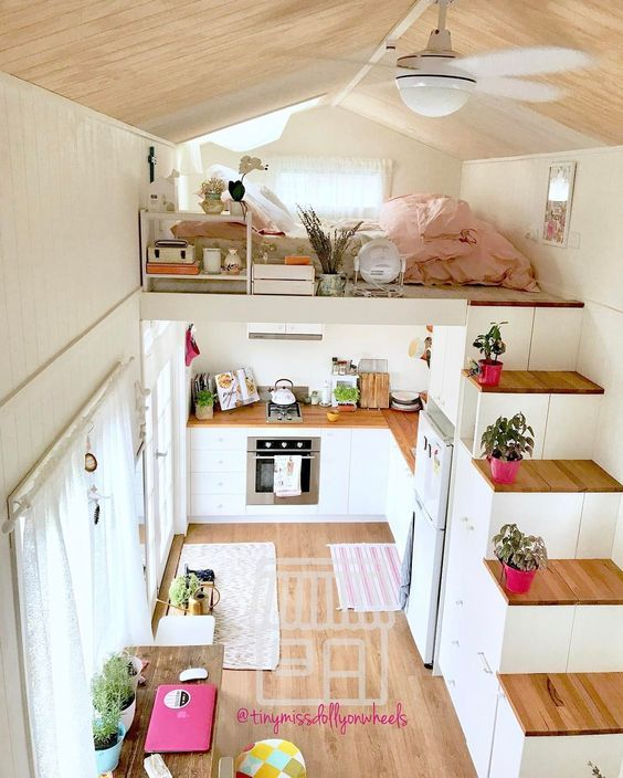 8 Chic Tiny Homes to Be Inspired By #tinyhomes