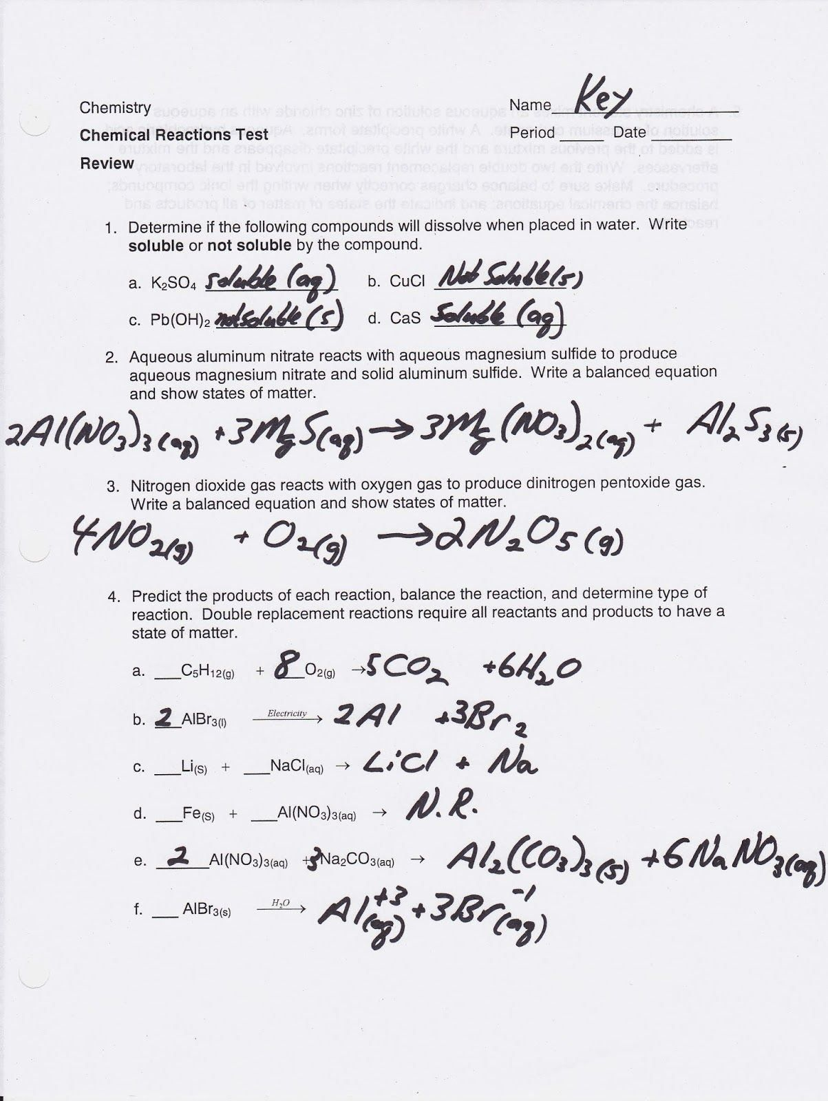 Classifying Matter Worksheet Answer Key Fresh Chemistry 1