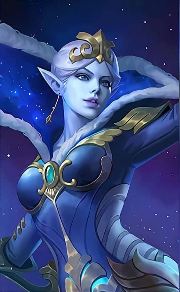 Aurora Zodiac Skin | Mobile legend wallpaper, Miya mobile