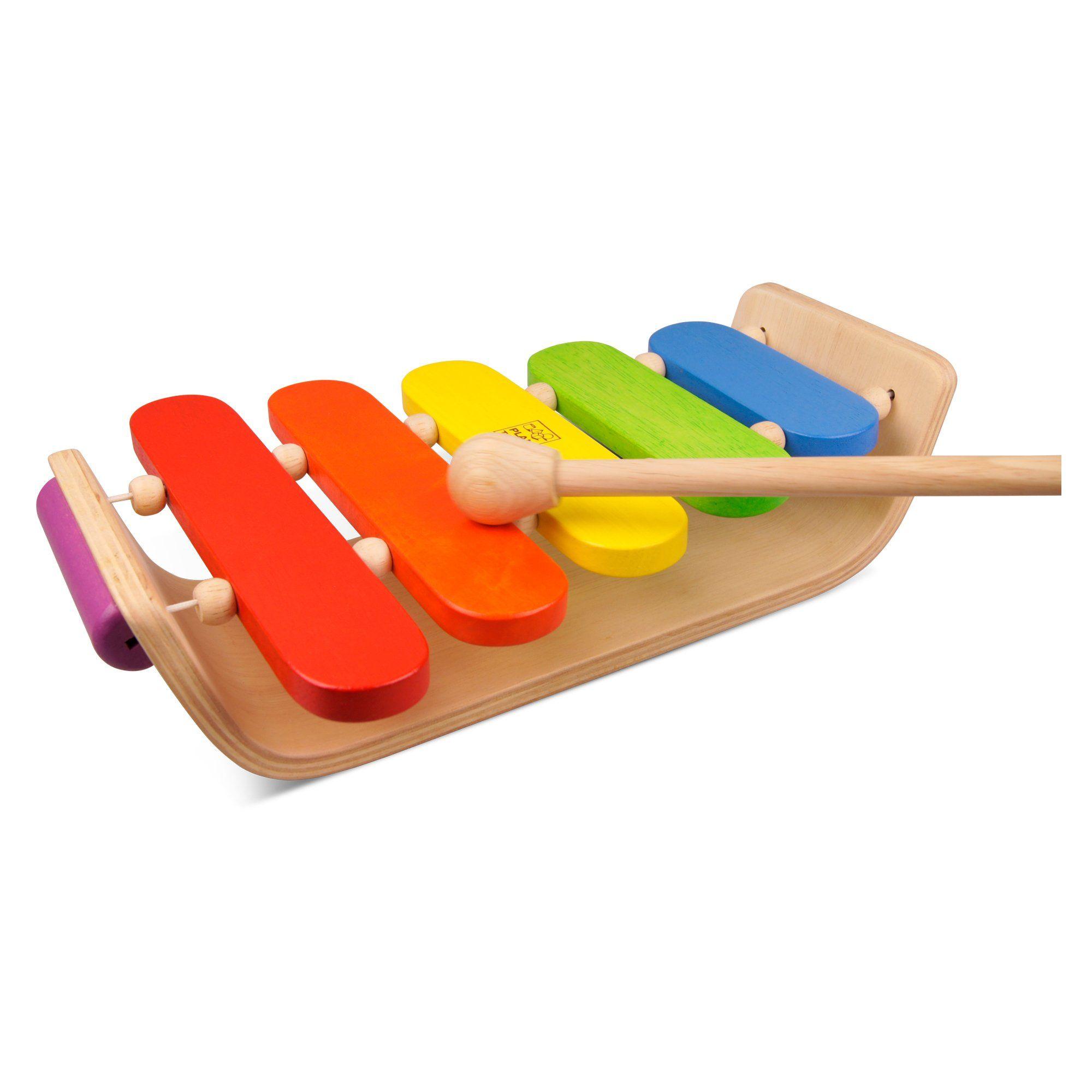 amazon: plan toy oval xylophone: toys & games