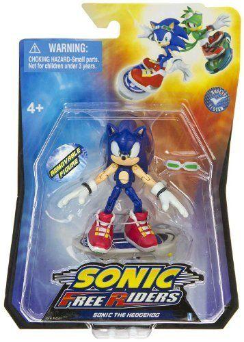 Yourfunnyshop Com Sonic Free Riders Action Figures Sonic