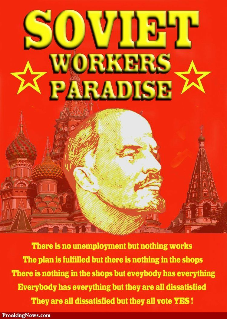 Image result for soviet workers paradise