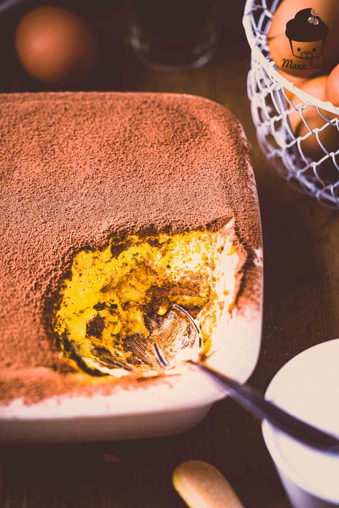 Tiramisu - klassisch mit Ei [Das Original aus Italien