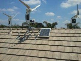 Hybrid Wind Solar Power Generators For Homes Businesses Small Wind Turbine Solar Power Generator
