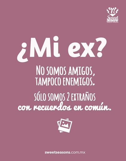 Frase My Ex We Are Not Friends We Are Not Enemies We Are Just