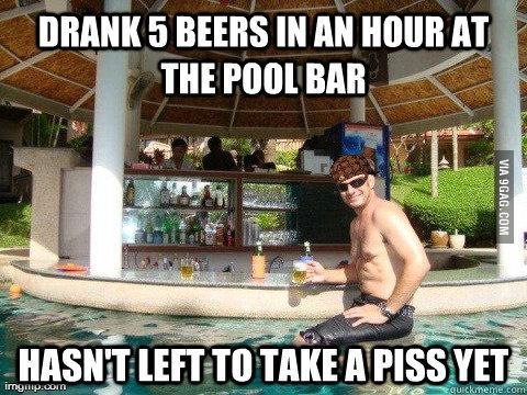 Why I don't trust pool bars  | The Things I Find Hilarious