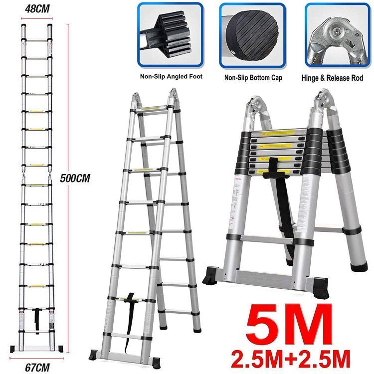The 12 Best Extension Ladder Reviews In 2020 Best Market Reviews In 2020 Ladder A Frame Ladder Retractable Ladder