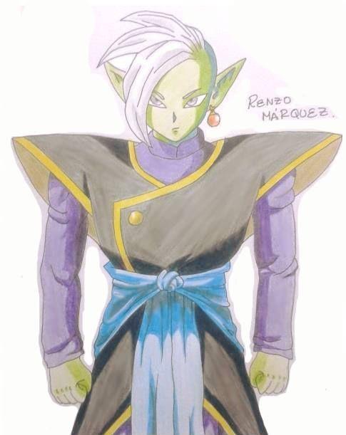 Draw Zamas (Dragon Ball Súper)