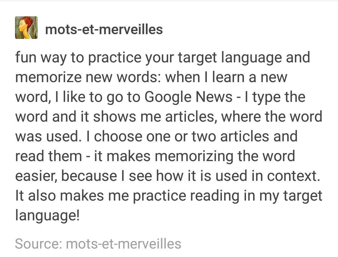 Polyglot tips #spanishthings