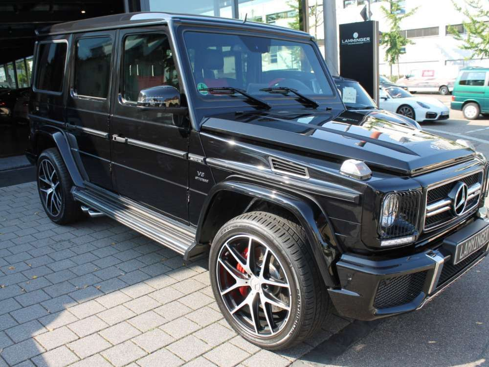 2018 Mercedes Benz G 63 Amg Exclusive Edition Suv Off Road Amg