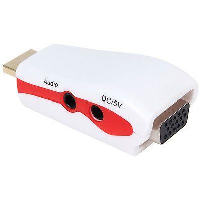 HDMI to VGA Video Converter Box Adapter & AV Audio Cable for PC 1080P HD TV PS3 https://t.co/wK94dSi4iD https://t.co/CueTzhJ6KG
