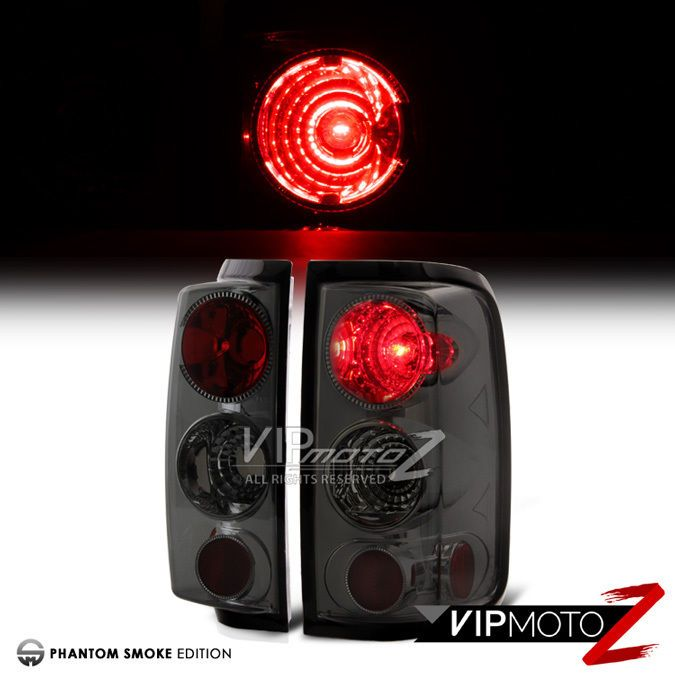 2004 2008 Ford F150 Picup Truck Smoke Rear Brake Tail Lights Lamps Assembly Pair Ford F150 Tail Light Rear Brakes