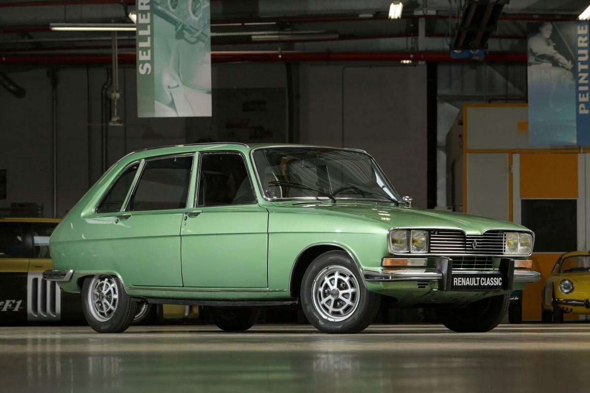 Halve Eeuw Renault 16 Klassieke Auto S Automobiel Eerste Auto