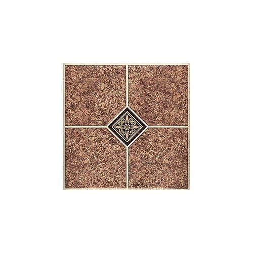 "12X12 Decorative Tiles Fair Found It At Wayfair  12"" X 12"" Luxury Vinyl Tile In Marble Design Decoration"