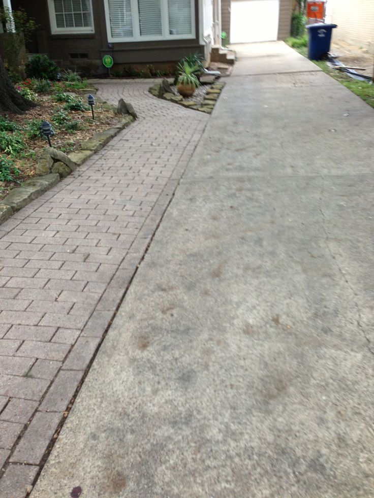 Image Result For Widening A Paved Driveway With Pavers