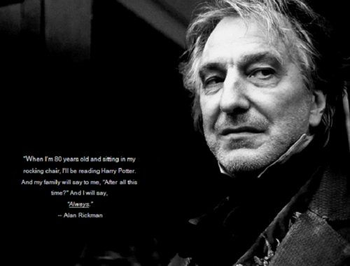 Alan Rickman Movie Quotes: Harry Potter Images Severus Snape Wallpaper And Background