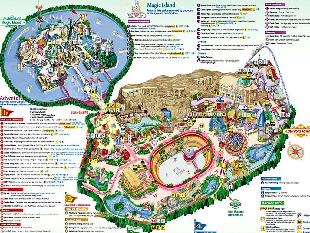 Lotte World Map Pdf. The Wonderful World of Oz  Kansas City never built Theme Park Cartography Pinterest Amusement parks and Master plan
