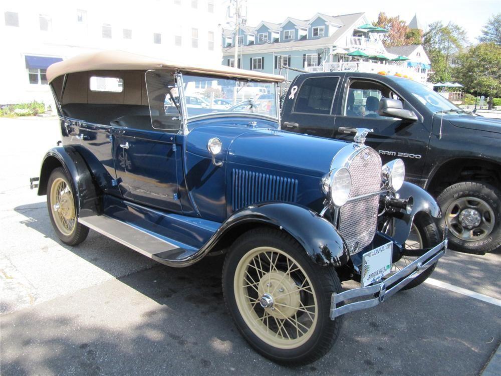 1929 FORD MODEL A PHAETON | Modelos a Escala 2 | Pinterest | Ford ...