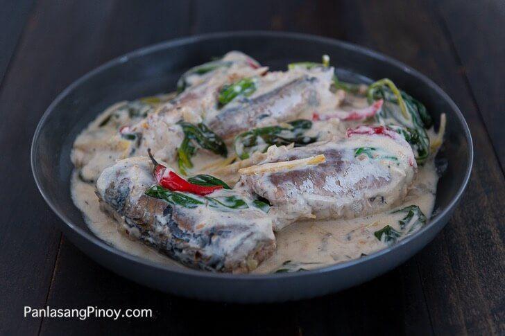 ginataang mackerel  recipe  mackerel recipes fish