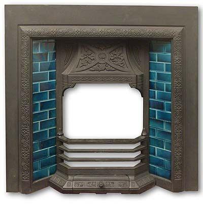 glazed tile fireplace - Google Search - Glazed Tile Fireplace - Google Search Fireplace Pinterest