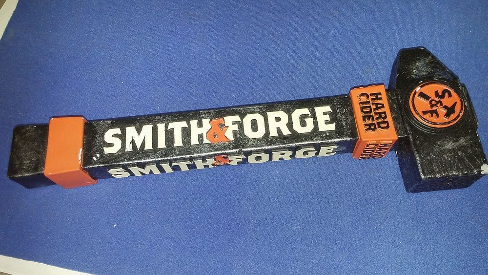 Smith & Forge Hard Cider Beer Tap Handles Knobs Vintage Collectible ...