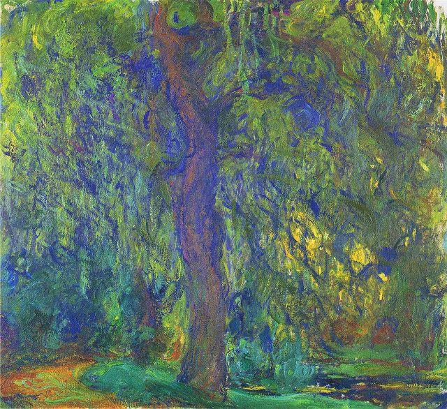Claude Monet: Saule pleureur // Weeping willow (1918-19)