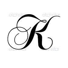 Image Result For Monogrammed Letter Capital K K Tattoo
