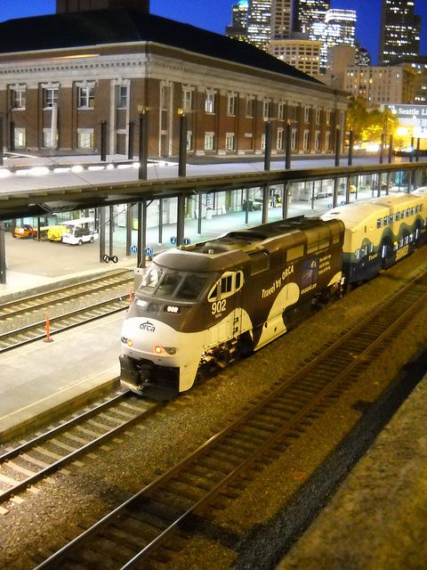 Such A Cool Pic Of A Seattle Sounder Train In Washington State Seattle Sounders Train Seattle