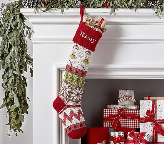 Classic Fair Isle Stocking Collection Stockings