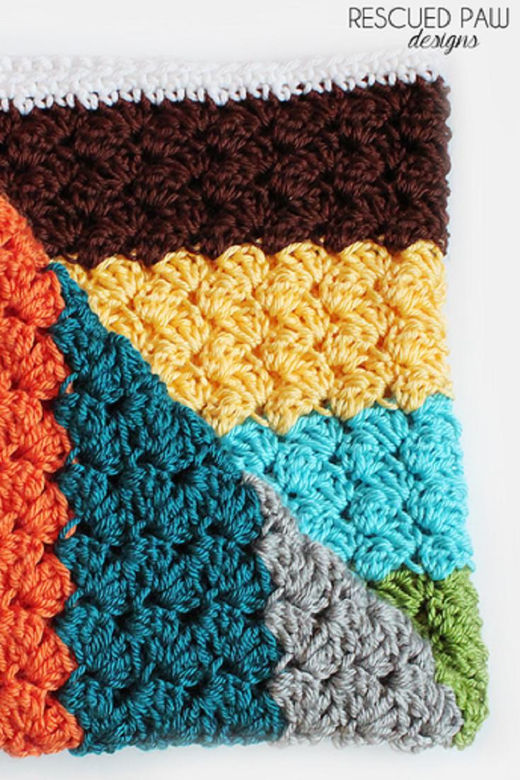 Free Pattern] Learn A New Crochet Stitch: The Blanket Stitch