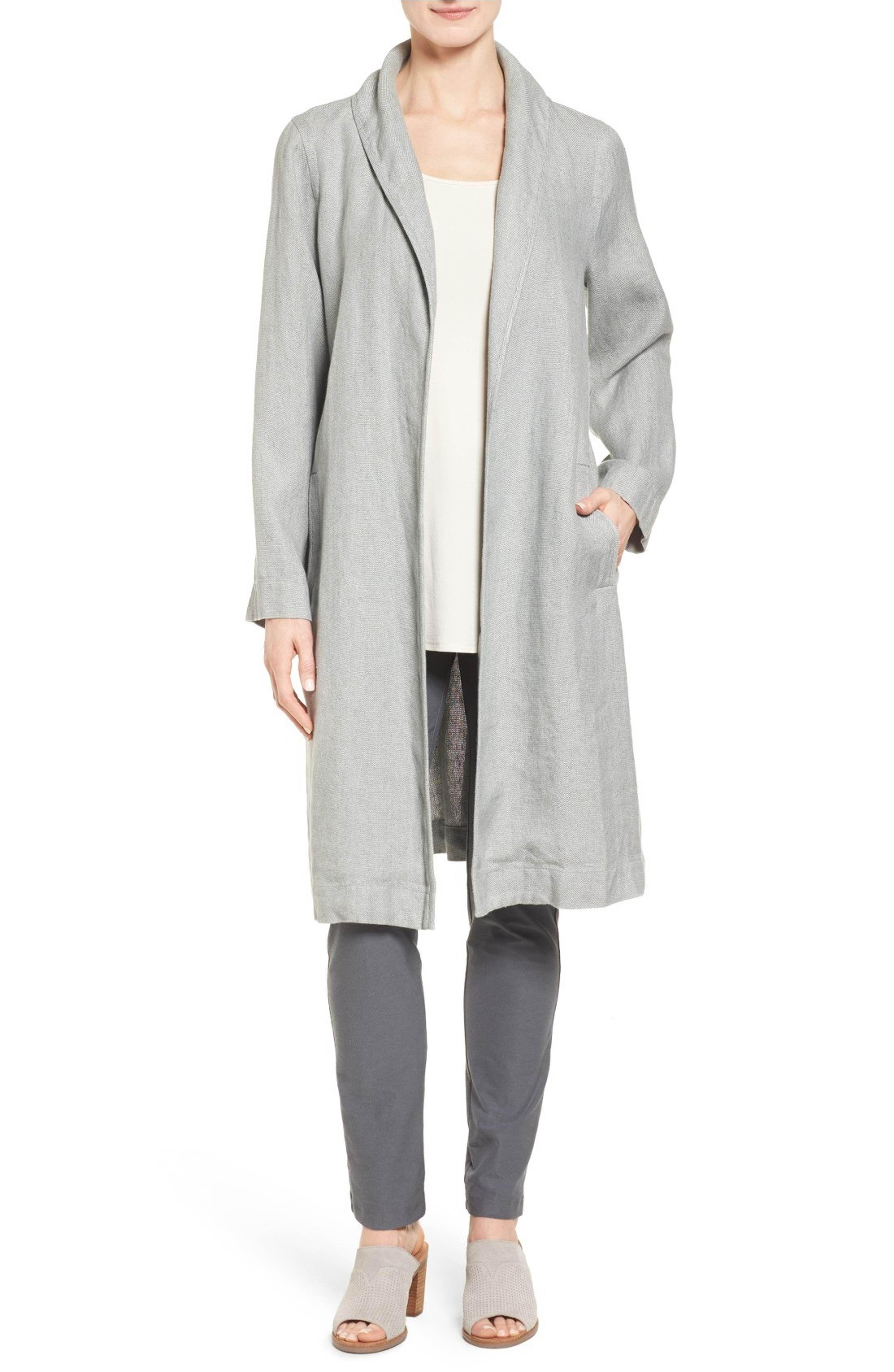 Eileen Fisher Long Organic Linen Jacket Regular Petite Nordstrom Linen Jackets Organic Linens Winter Coats Jackets [ 4320 x 2816 Pixel ]