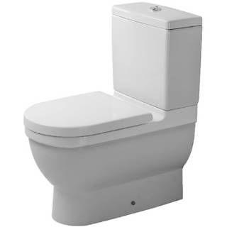 Check out the Duravit D1906000 Starck 3 Dual Flush Washdown Toilet Set in White