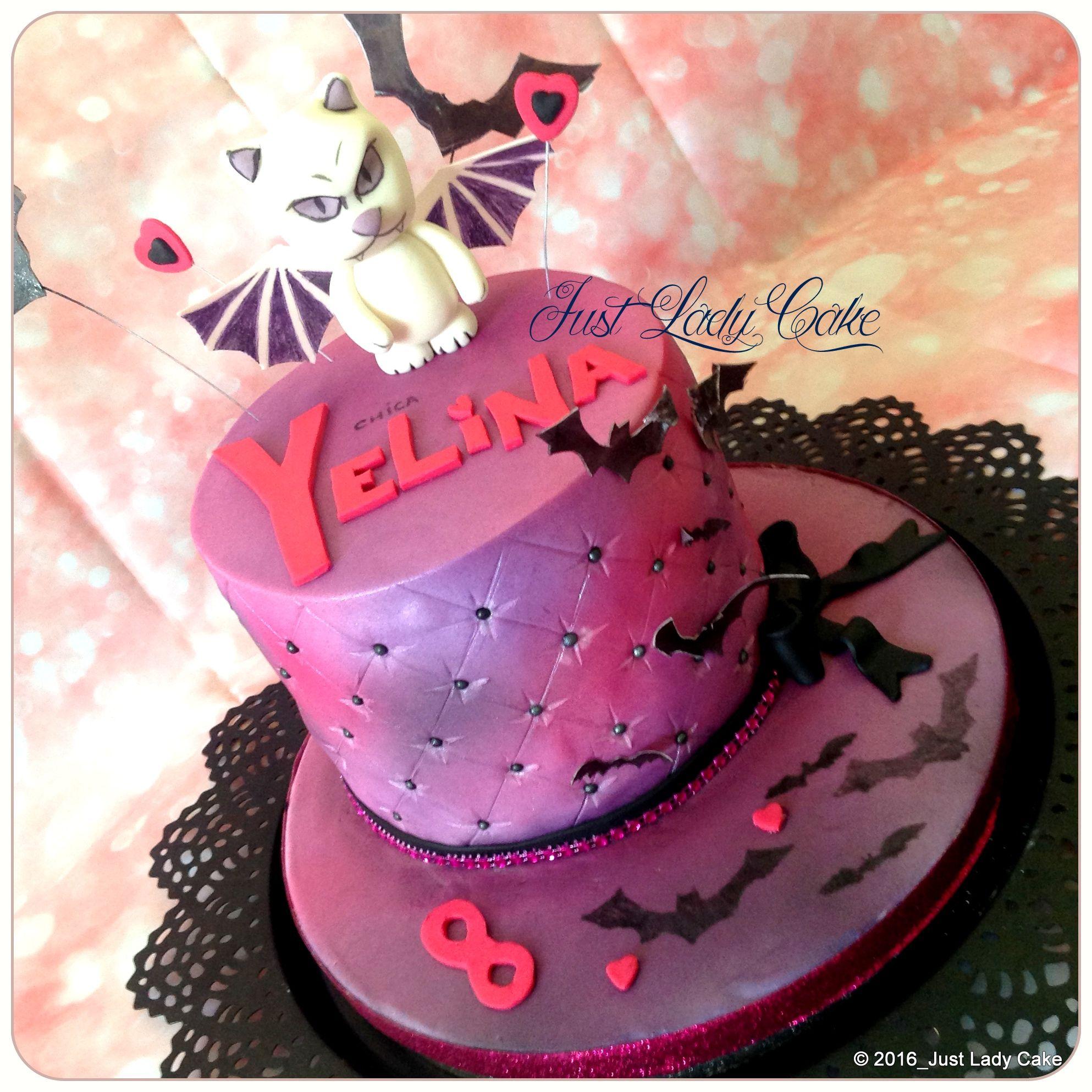 Chica Vampiro Cake Cat Cake Varios Pinterest Cake Birthday