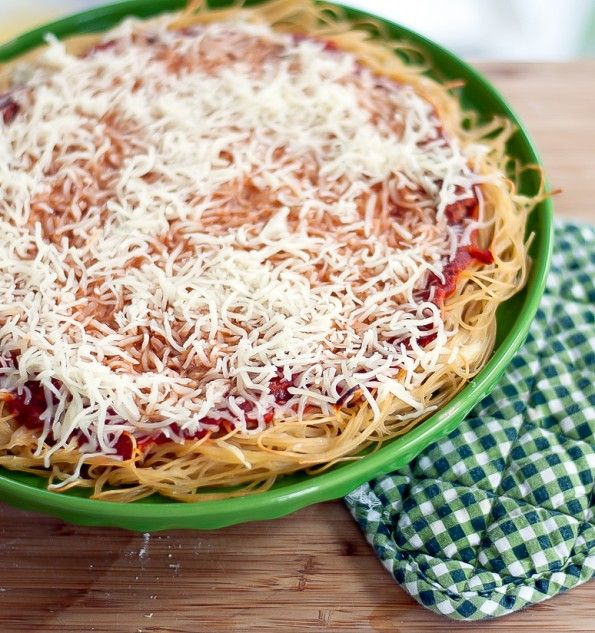 Spinach Beef Spaghetti Pie Recipe: Spaghetti Pie, Spaghetti Pie Recipes