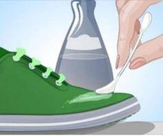 Mettere l'acetone sulle scarpe: vedendo i risultati ho fatto