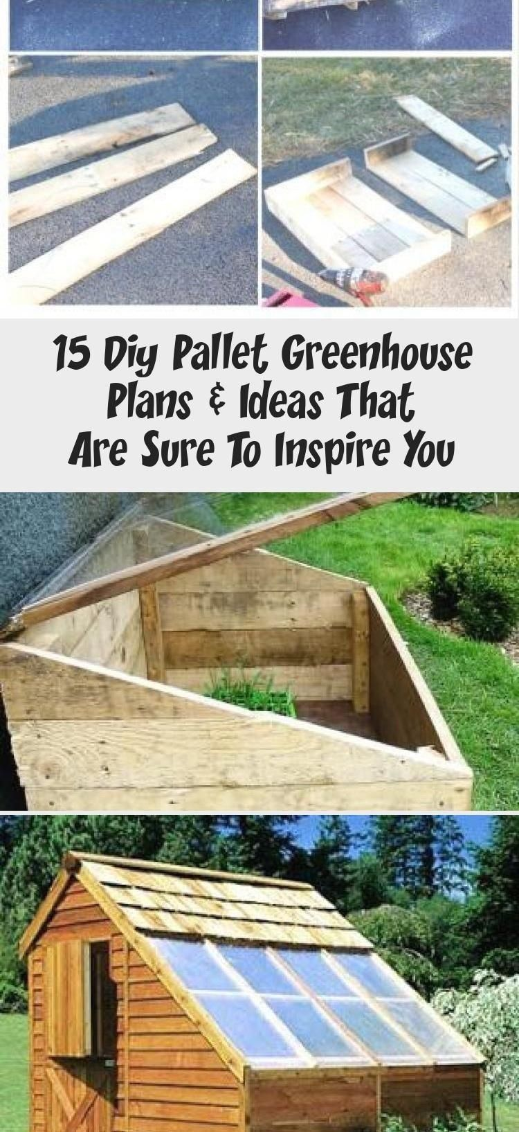 Diy Cold Frame From Pallets