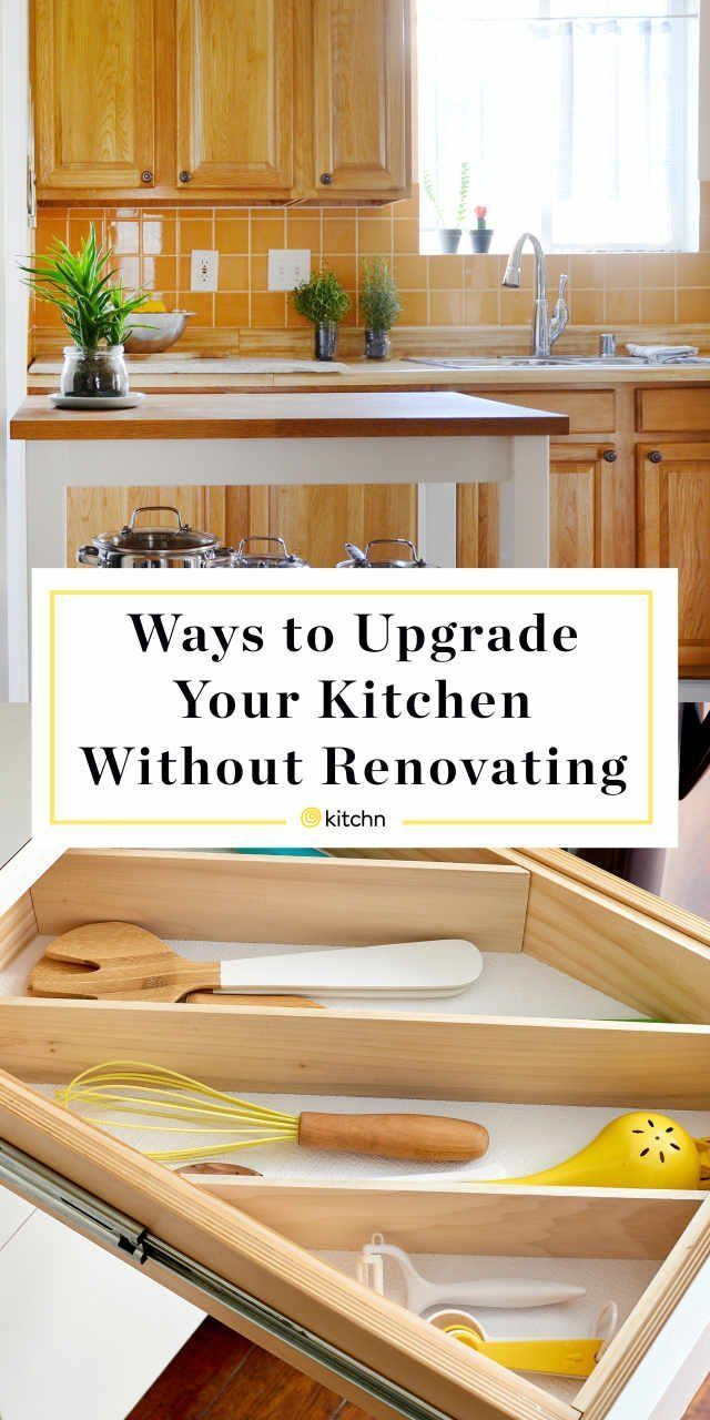 9 little ways to upgrade your kitchen without renovating on kitchens that ll make you want to redo yours id=75755