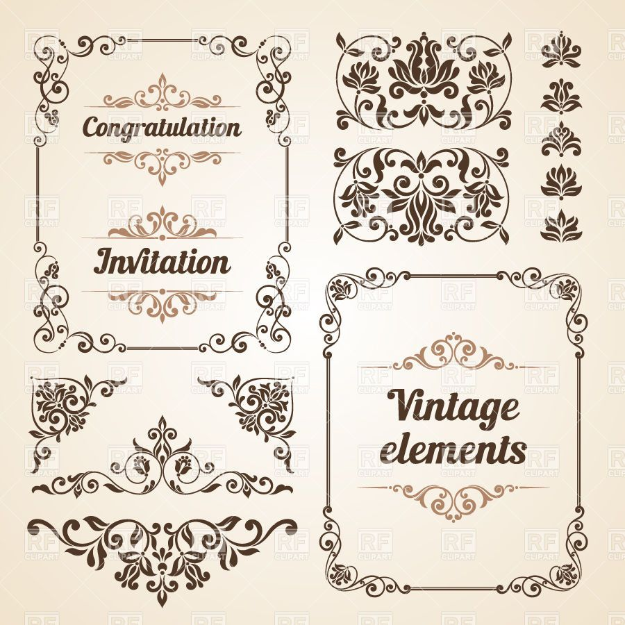 The Gallery For Vector Vintage Frames Free Download Vintage Frames Ornate Frame Vintage Picture Frames