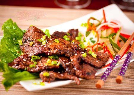 Thịt bò nướng kiểu Nhật   Teriyaki Beef