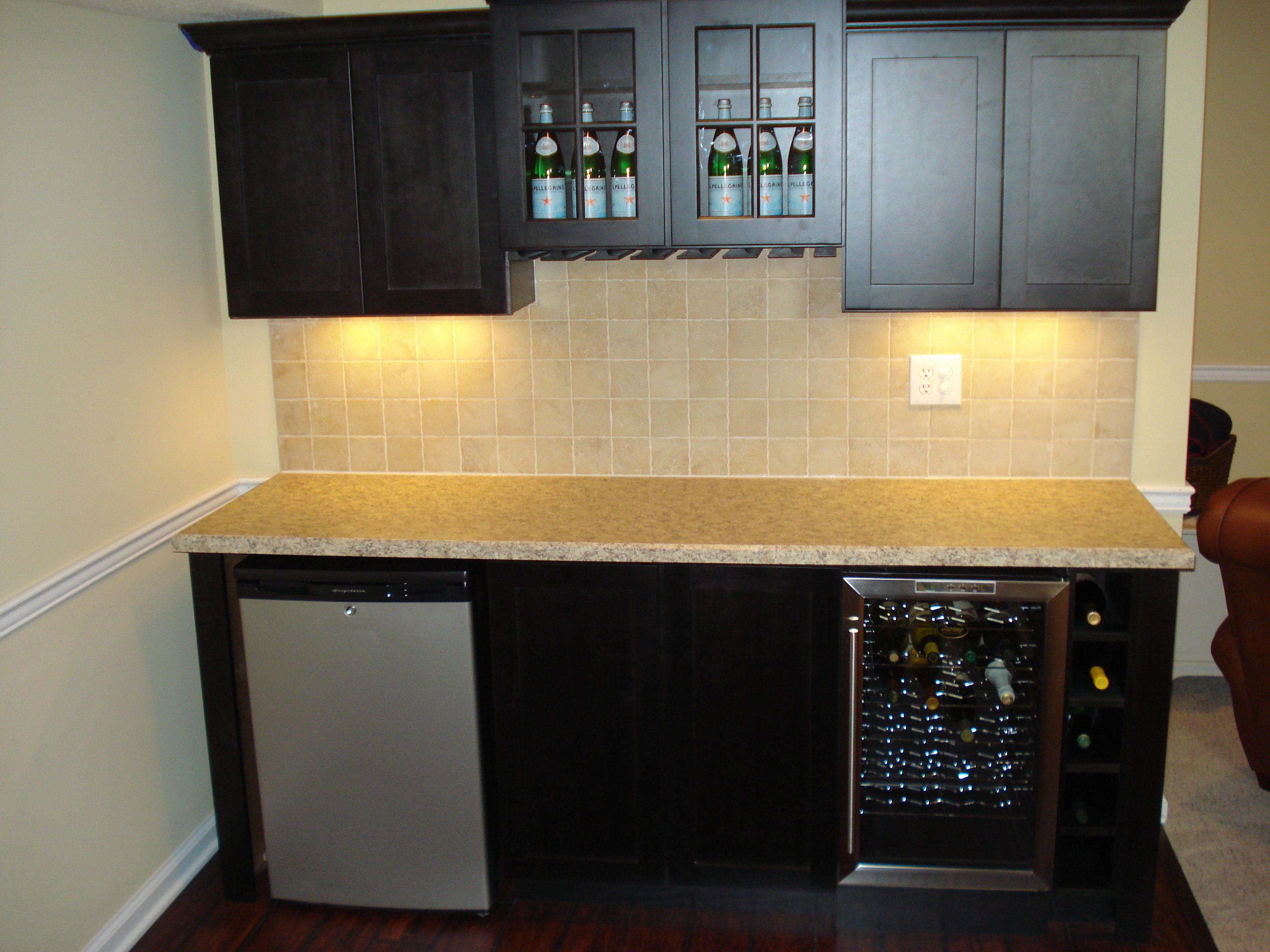 Simple Basement Wet Bar   Simple Basement Wet Bar